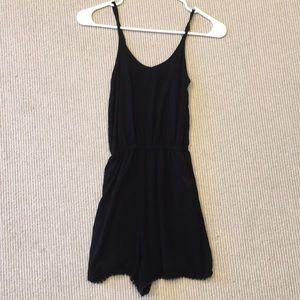 Dresses & Skirts - SIMPLE BLACK ROMPER